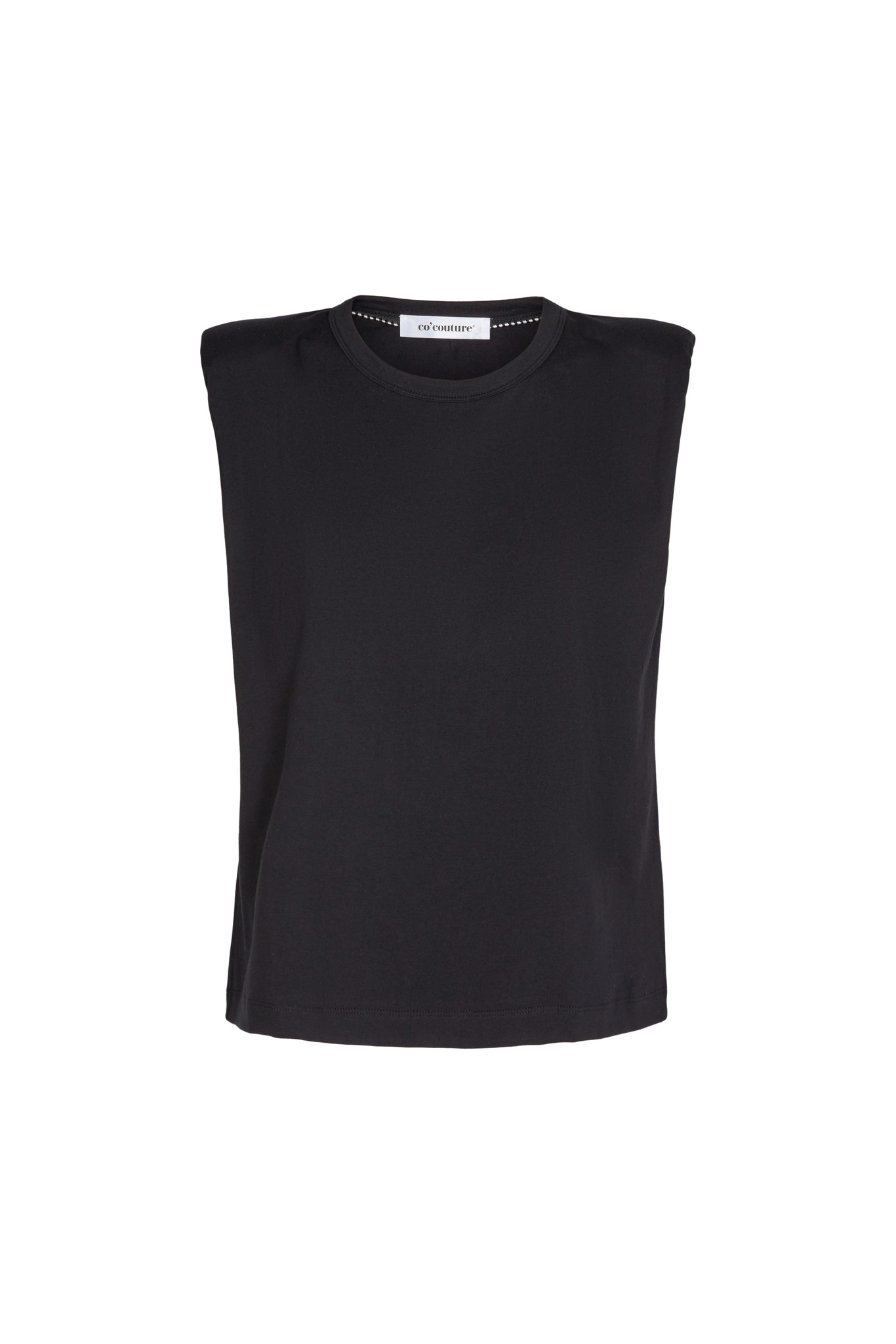 Co Couture Eduarda Tee - Black