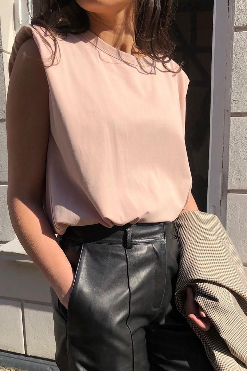 Co Couture Eduarda Tee - Black