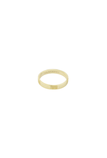 Wildthings Five Lines Ring - Gold