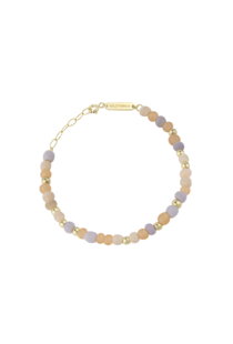 Wildthings Pink Palette Bracelet - Gold