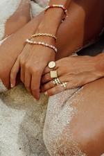 Wildthings Pink Palette Bracelet - Gold