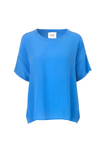 Second Female Tonga Silk Top - Blue