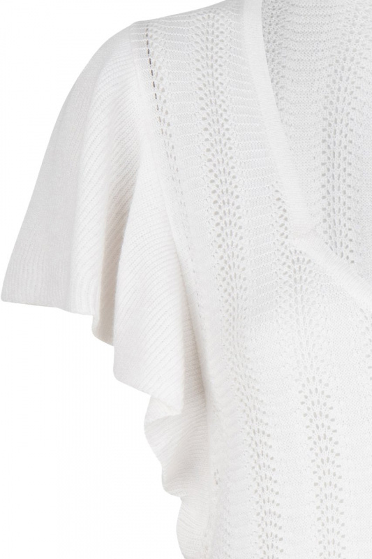 Dante6 Aquaria Ajour Top - Milk White