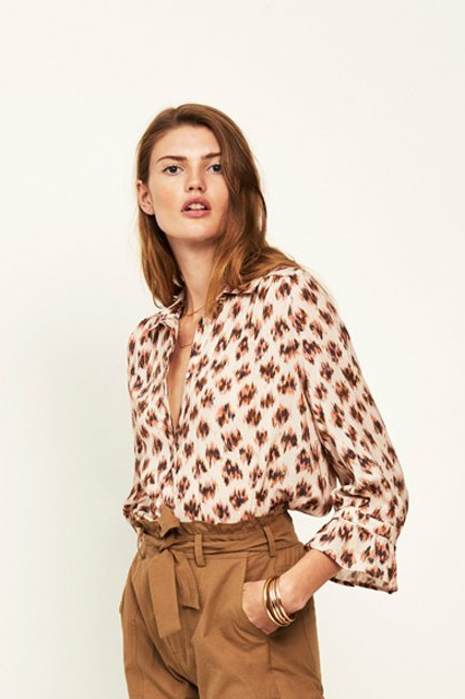Dante6 Willow Print Blouse - Multi