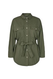 Co Couture Maxine Shirt - Army