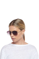 Le Specs Fly High Sunglasses - Gold
