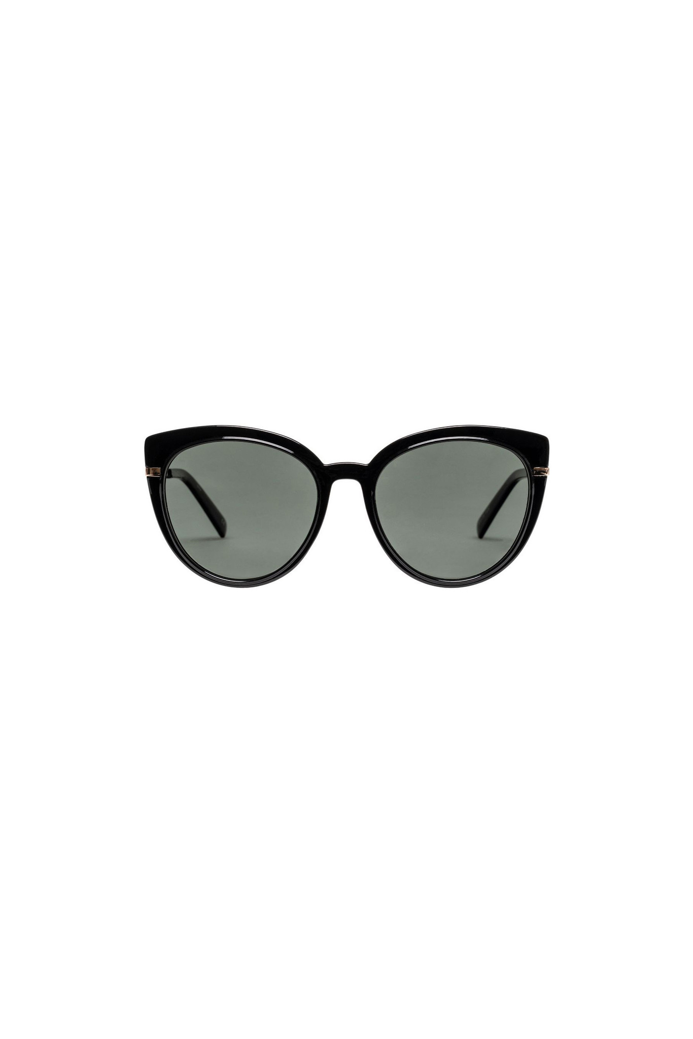 Le Specs Promiscuous *Polarized* Sunglasses - Black