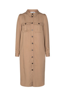 Co Couture Uni shirt dress - Khaki
