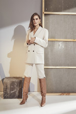 Co Couture Vola Blazer - Bone