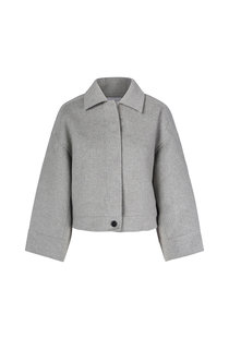 One & Other Andy Wool Jacket - Grey