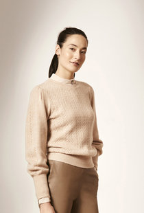 Dante6 Kinsley Knitted Sweater - Rose