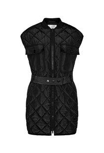 Co Couture Anaya Quilt Vest - Black