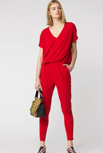 By Malene Birger Edia Jumpsuit - Red