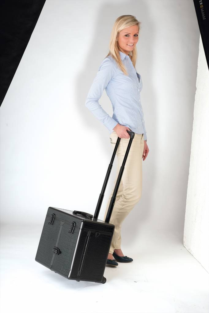 Sibel Sibel Trolley Koffer Windows Zwart