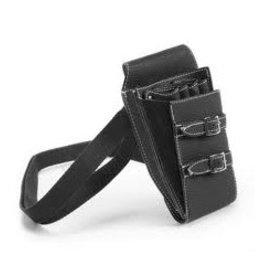 Schaarholster Strapped Zwart