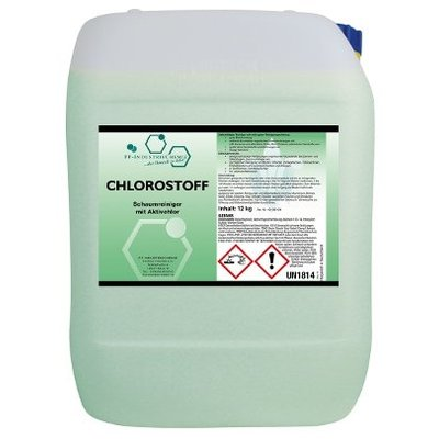 Chlorostoff - Schaumreiniger mit Aktivchlor