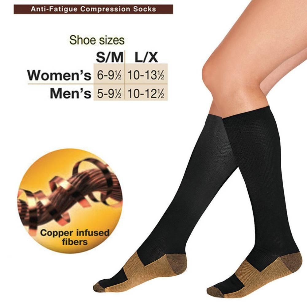 DutchUnder Steunkousen Miracle Socks Duo Pack met Kopervezels voor extra comfort.