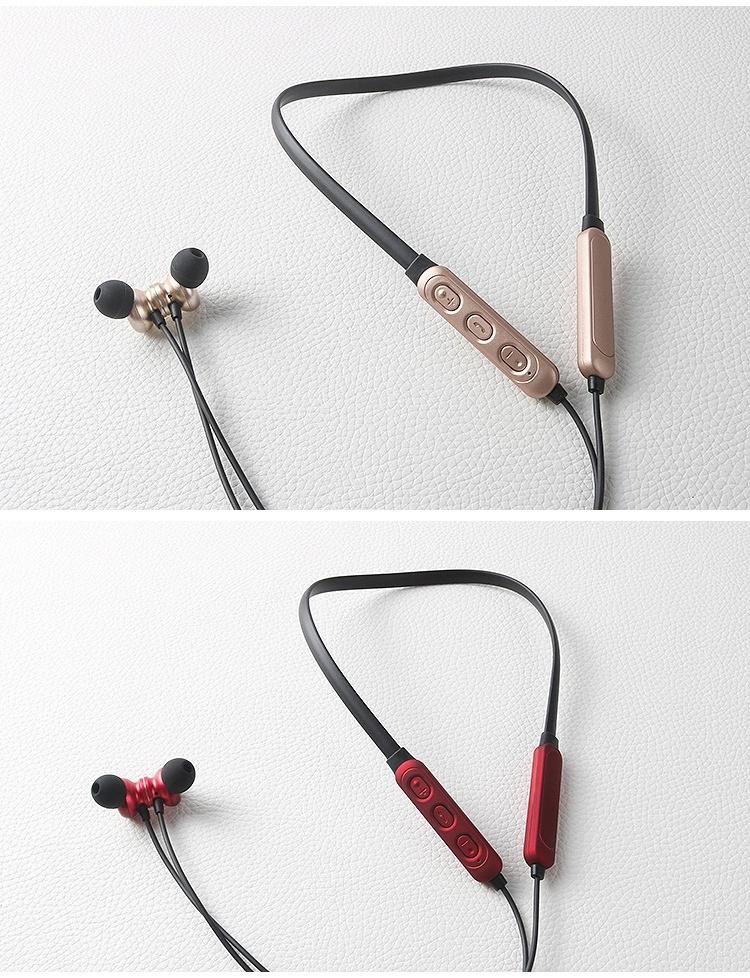 Draadloze In Ear Bluetooth Sport  Oordopjes Magnetisch en Zweetbestendig met Microfoon