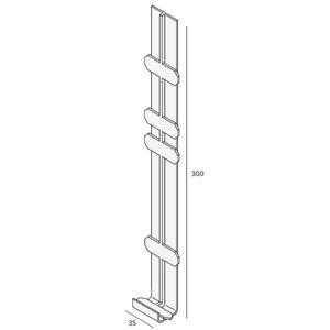 Keralit® Tussenstuk 350 mm (per stuk)
