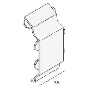Keralit® Tussenstuk sierlijst (per stuk)