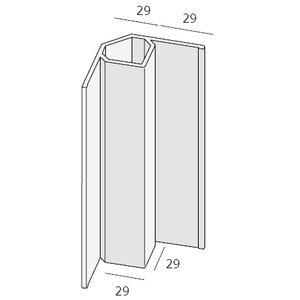 Keralit® Inwendig hoekprofiel (1 x 400 cm)
