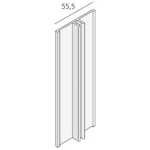 Keralit® Basis verbindingsprofiel aluminium (1 x 400 cm)