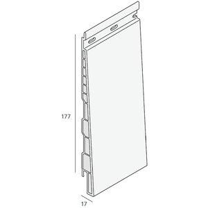Keralit® Potdeksel 177 mm paneel (1 x 600 cm)