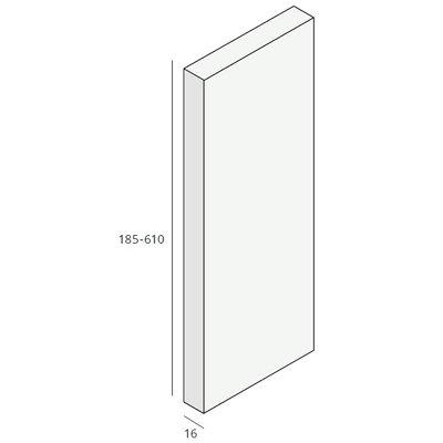 Unipanel® 185 mm paneel (1 x 580 cm)