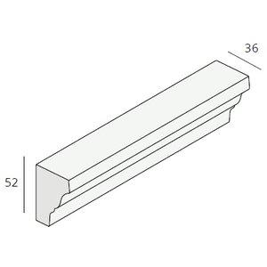 Unipanel® Sierlijst 36x52 mm (1 x 485 cm)