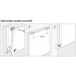 Unipanel® Montage voorschriften dakrandpanelen zonder overstek
