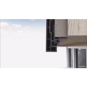 Keralit® Montageprofiel 17 mm (1 x 600 cm)