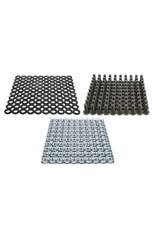 Penn Elcom Penn Elcom kooimoer set M6, 3 mm, 100 stuks, voor aluminium profiel RG-6000 ofRG-6108