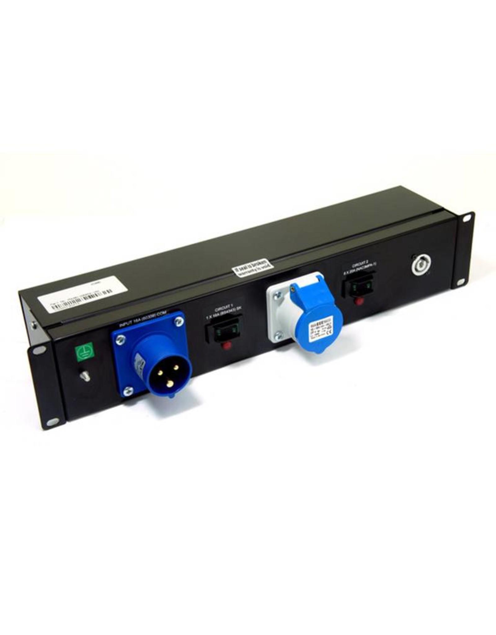 Penn Elcom Penn Elcom 2 HE Stroomverdeel-unit 16A met 8x Powercon