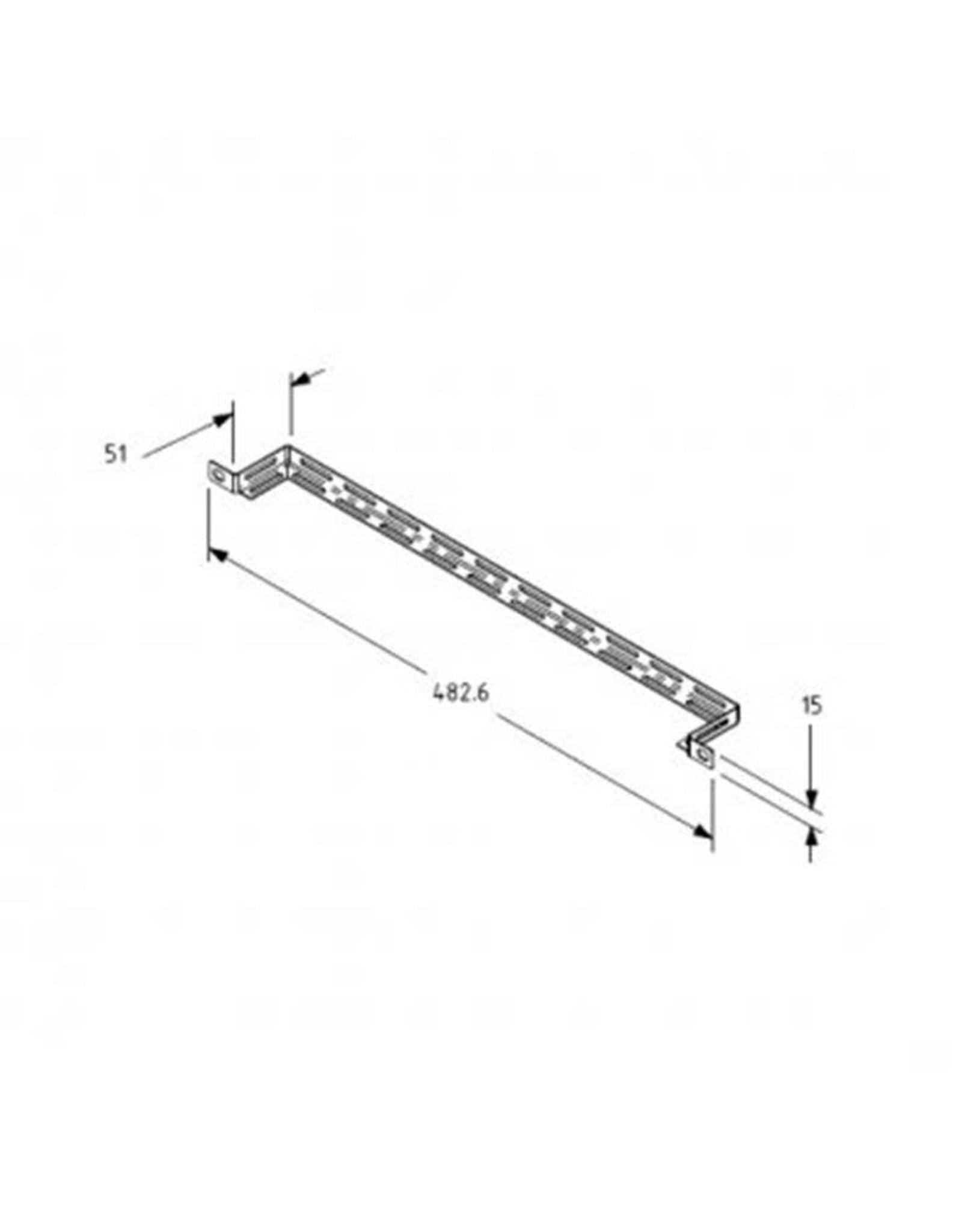 Penn Elcom Penn Elcom 19 inch rack mount cable support tie-bar, 51 mm