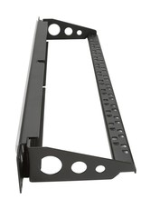 Penn Elcom Penn Elcom Frontplaat 1 HE, voor 24 Keystone modules, met ID Strip en kabelsupport
