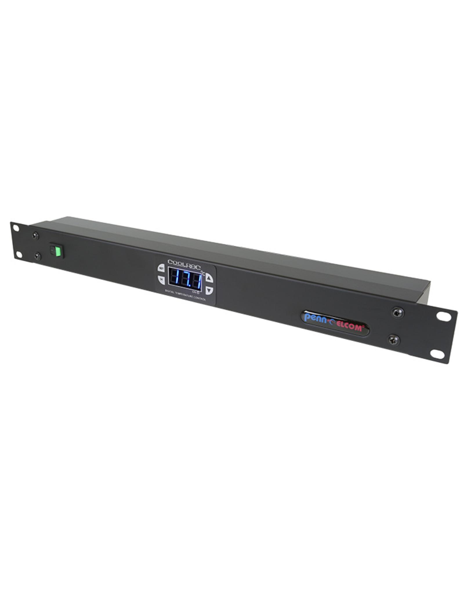 Penn Elcom Penn Elcom 1HE digitale thermostaat monitor