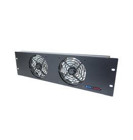 Penn Elcom 3HE ventilatie-unit, 2 ventilatoren