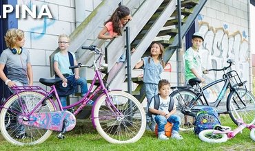 Alpina meisjesfiets of jongensfiets kopen? Uit voorraad Leverbaar!