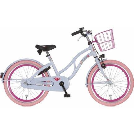 Alpina Ocean - De hippe meisjeskleuren en leuke gekleurde velgen en banden geven deze fiets een ultieme strandgevoel!