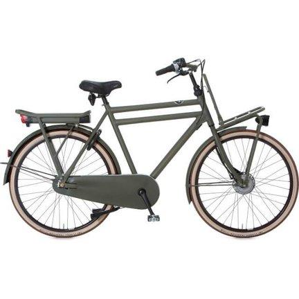 Cortina E-Transport fiets - herenfiets/damesfiets met een robuuste uiterlijk en een sterk frame!