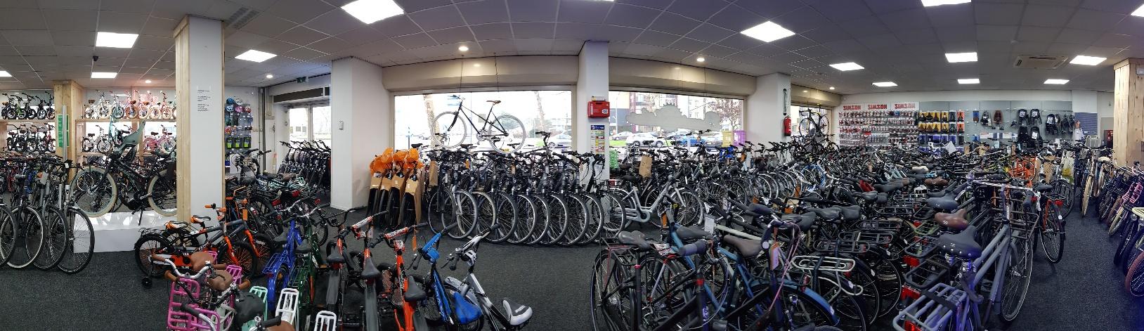 Fietsenwinkel Rotterdam Showroom