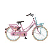 Popal  Daily Dutch Basic+ 22 inch Meisjesfiets Bloom Roze