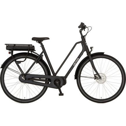 De Cortina E-Foss is een hippe e-bike voor dagelijks gebruik met een lage instap en extra comfort!