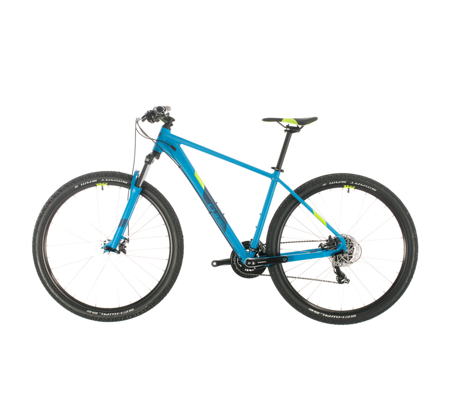 AIM 27.5 inch Mountainbike Blue Green 2020