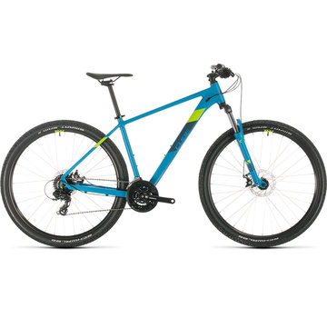 Cube  AIM 27.5 inch Mountainbike Blue Green 2020