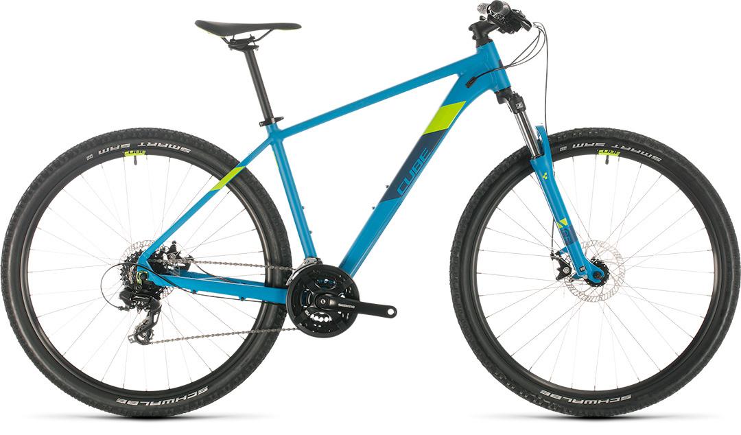 Cube AIM 27.5 inch Mountainbike Blue Green, beste prijs kwaliteit!