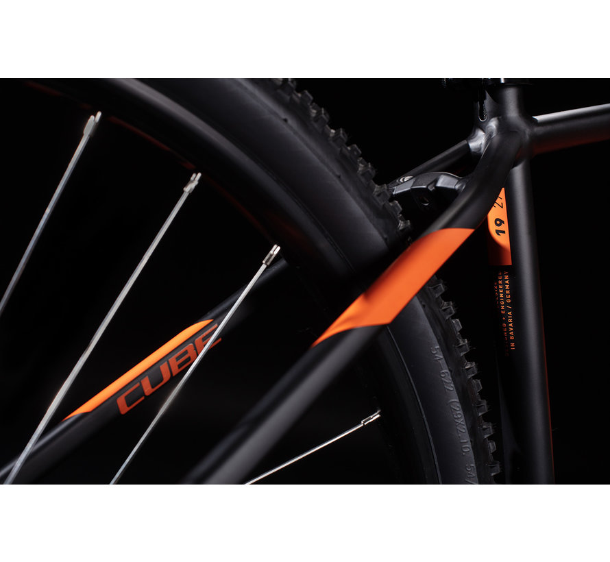 AIM PRO 29 inch MTB Black Orange 2020