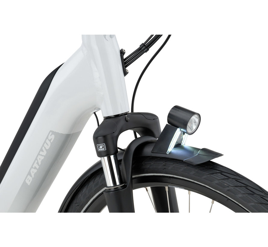 Finez E-go Power damesfiets 8V Parelmoer Glans