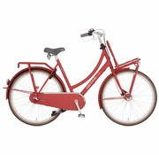 Cortina  U4 Denim Damesfiets 28 Inch True Red Matt RB 3V