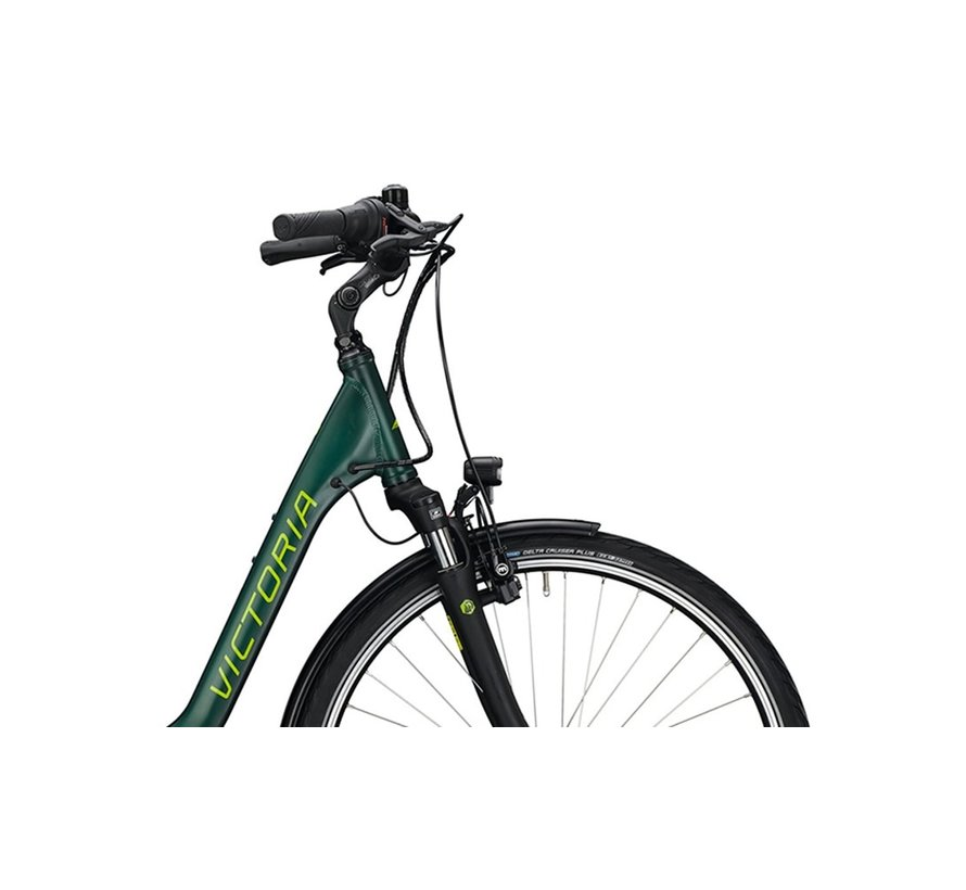 eTrekking 5.9 elektrische fiets 7V Groen Bosch 500 Wh